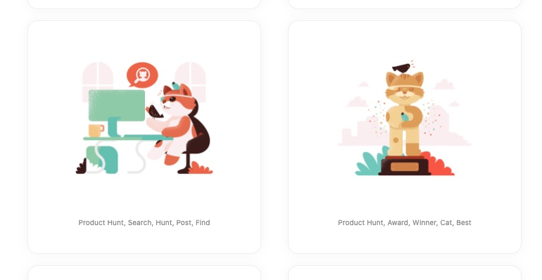 product hunt cat image